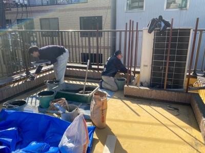 台風被害 天災被害 店舗 屋上 保険対応 トラブラン 神戸市