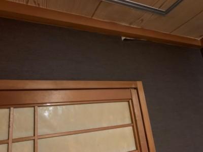 天井 壁漏水跡 屋上 雨漏り 雨 修繕前 神戸市 トラブラン