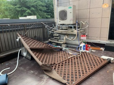 台風被害 天災被害 店舗 屋上 保険対応  修繕 トラブラン 神戸市