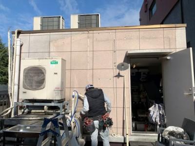 屋上 電気配線 施工 工事 天災被害 神戸市 トラブラン