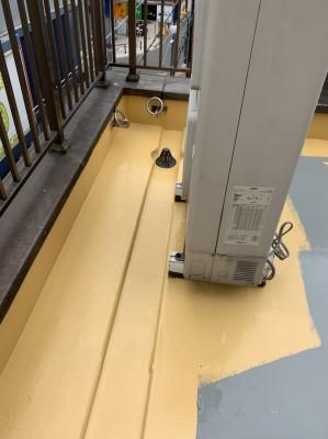 防水工事 ウレタン塗装 トップコート 店舗 屋上 神戸市 トラブラン