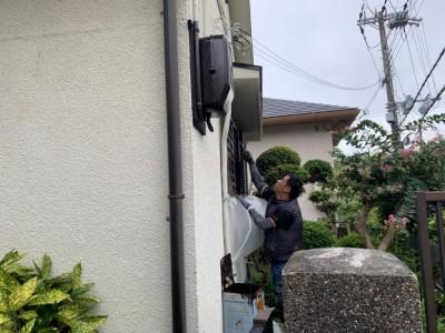ウレタン 塗装 雨戸 リフォーム 修繕 神戸市 トラブラン