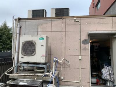 屋上 電気配線 スイッチ 工事 工事中 天災被害 神戸市 トラブラン