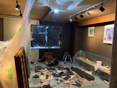 台風被害 壁紙張替え 施工 工事 神戸市 トラブラン