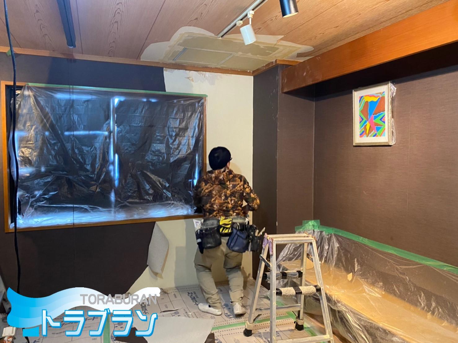 台風被害 内装工事 漏水工事 保険適用 神戸市 トラブラン