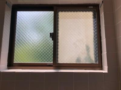 浴室 窓 タイル 修繕 リフォーム 神戸市 トラブラン
