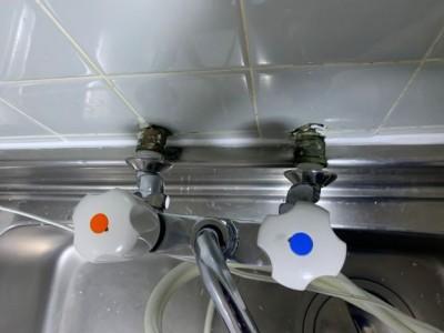 浴室水栓 2ハンドル 交換工事 お風呂 神戸市 トラブラン