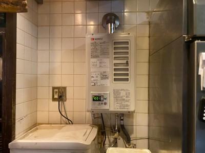 給湯器 FF式 FF型 交換工事 取替え 神戸市 トラブラン