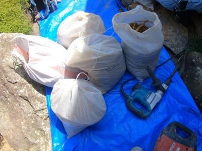 土嚢袋 一旦撤去 再利用 桝交換 排水マス 神戸市 トラブラン