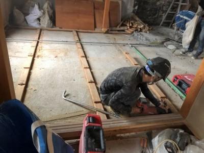リフォーム 賃貸物件 和室 畳 解体 神戸市 トラブラン