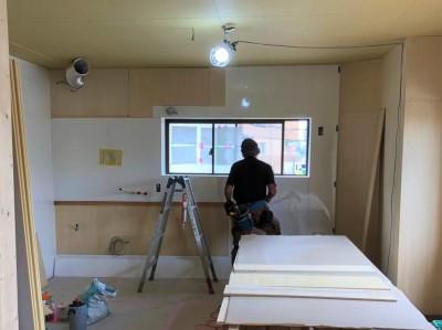 キッチンパネル取付 マンションキッチン 神戸市 トラブラン