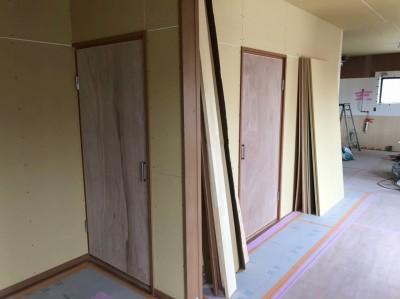 室内 内装リフォーム 収納扉 神戸市 トラブラン