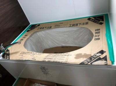 賃貸マンション 新品 浴室 浴槽 明石市  西宮市トラブラン
