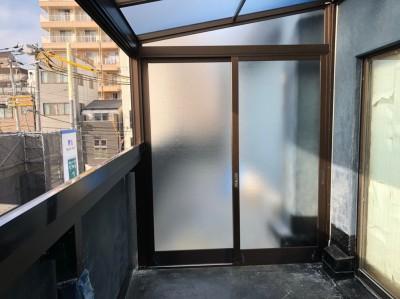 ベランダ 浴室 マンション ベランダ改装工事 神戸市 トラブラン