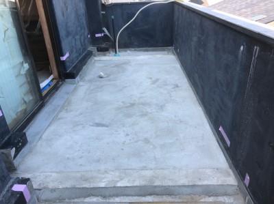 ベランダ 防水塗装 プライマー塗装 乾燥 神戸市 トラブラン 防水