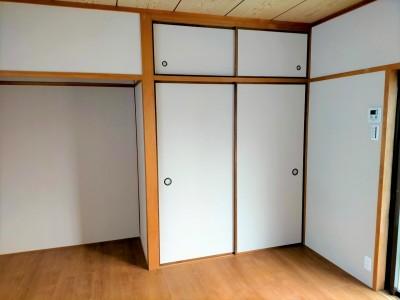 洋室 リフォーム マンション 押入れ 襖の交換 神戸市 トラブラン