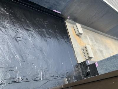 ベランダ 防水塗装 トップコート塗装 改装 神戸市 トラブラン 防水
