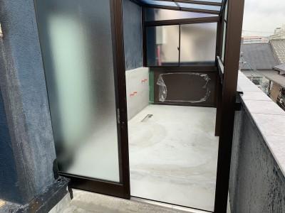 オーダー浴室 取付け工事 マンション 神戸市 トラブラン