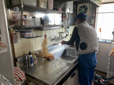 キッチン 湯沸かし器 分岐 浴室 洗面水栓 神戸市 トラブラン