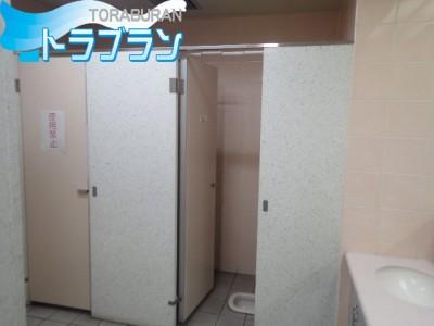 和式トイレ トイレ 施工前 ビル 神戸市 トラブラン