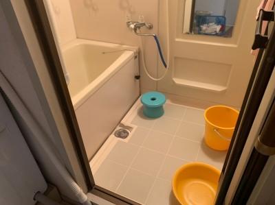 現調 ビフォー バスルーム お風呂 リフォーム 神戸市 トラブラン
