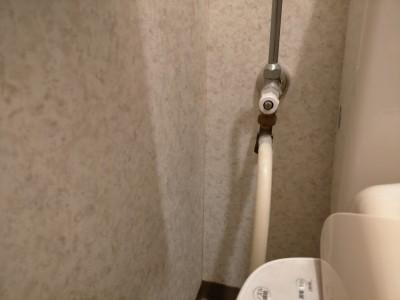 トイレ 交換工事 現場調査 止水栓 トイレのリフォーム  神戸市 トラブラン