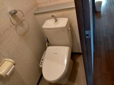 トイレ 交換工事 現場調査 トイレのリフォーム  神戸市 トラブラン