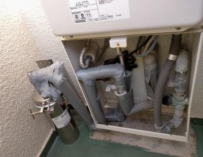 給湯器 給水部分 除濁器フィルター 交換 神戸市 トラブラン
