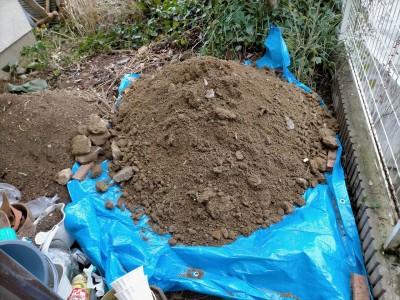 桝の交換 土の撤去 再利用 塩ビマス 神戸市 トラブラン