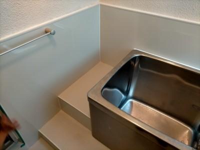 浴室 壁 パネル 床 シート リメイク 施工完了 神戸市 トラブラン