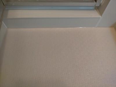 床 シート 防滑 サンゲツ エンボス モルタル補修 施工後 神戸市 トラブラン
