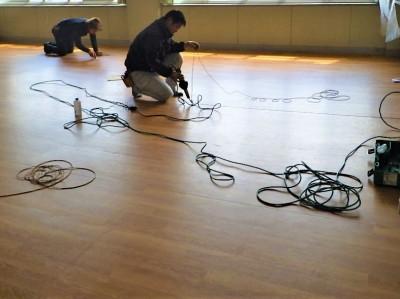 熱溶接 加工 接着 床 長尺シート 神戸市 トラブラン