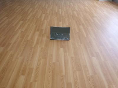 床 長尺シート 貼り替え 工事 施設 施工完了 アフター 神戸市 トラブラン