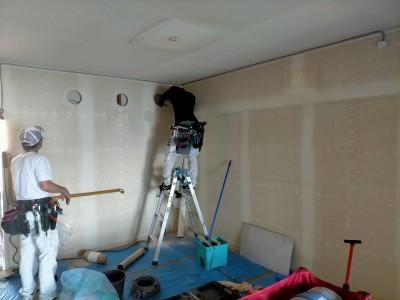 電気工事 配線 壁紙 リフォーム リノベーション 神戸市 トラブラン