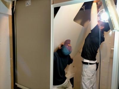 水廻り 浴槽 壁 工事 お風呂 ユニットバス バスルーム リフォーム 神戸市 トラブラン