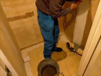 トイレ 壁紙 床 天井 工事 リフォーム マンション 神戸市 トラブラン