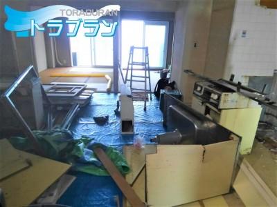 キッチン マンション 解体 交換 リフォーム 神戸市 トラブラン