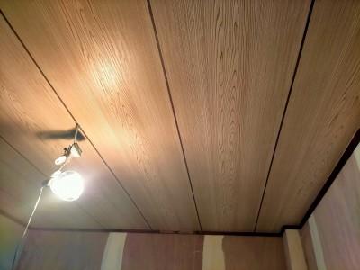 和室のリフォーム 天井 天井調クロス リフォーム 神戸市 トラブラン