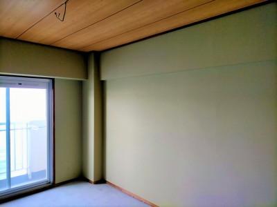 和室のリフォーム 施工後 賃貸マンション リフォーム 神戸市 トラブラン