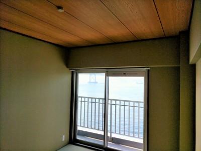 賃貸マンション 和室 リフォーム 垂水区 オーシャンビュー物件 神戸市 トラブラン