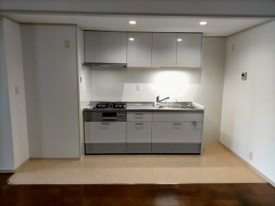キッチン LIXIL シエラ 交換工事 リフォーム マンション 神戸市 トラブラン