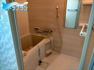 マンションのリフォーム 浴室取替え 浴室リフォーム 賃貸 神戸市 トラブラン