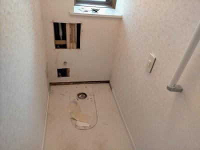 便器の撤去 トイレ交換工事 取替え 漏水 給湯管取替 神戸市 トラブラン