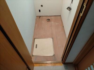 トイレ 水漏れ 漏水 修繕 点検口 床材 トラブラン 神戸市