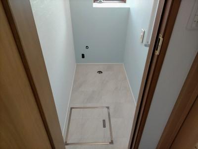 トイレ 壁紙 床 クッションフロア FC 張替え 戸建て 神戸市 トラブラン