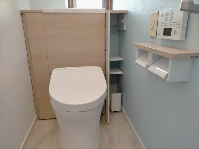 トイレ TOTO レストルーム レストパル I型 取替え 工事 神戸市 トラブラン