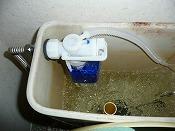 便器の水がとまらない