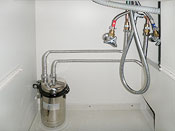 浄水器の点検